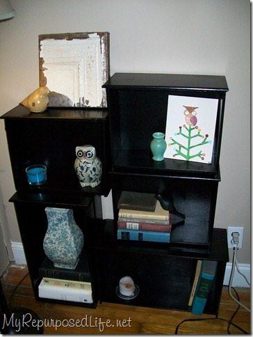 Shelves Made From Drawers My Repurposed Life