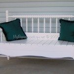 Headboard Bench (full size spindle or spool bed)