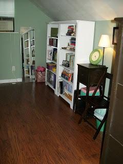 how to organize attic bedroom
