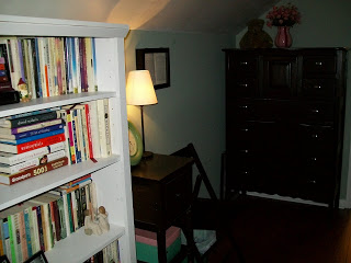 upstairs attic bedroom
