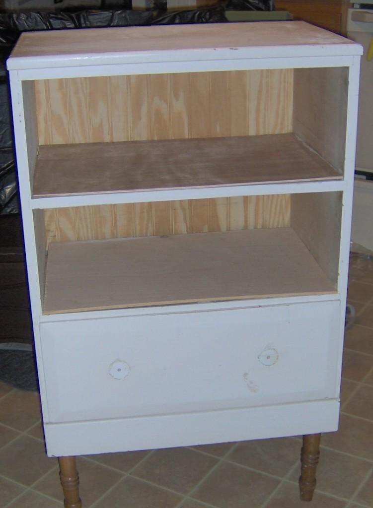 repurposed nightstand