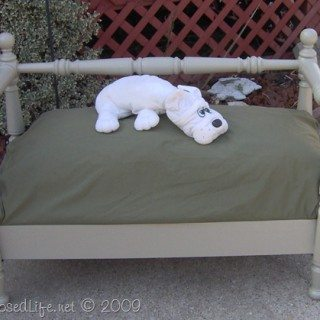 Dog day bed