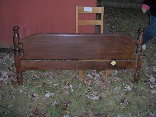 headboard foot board bench