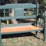 green-headboard-bench