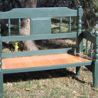 Easy Headboard Bench
