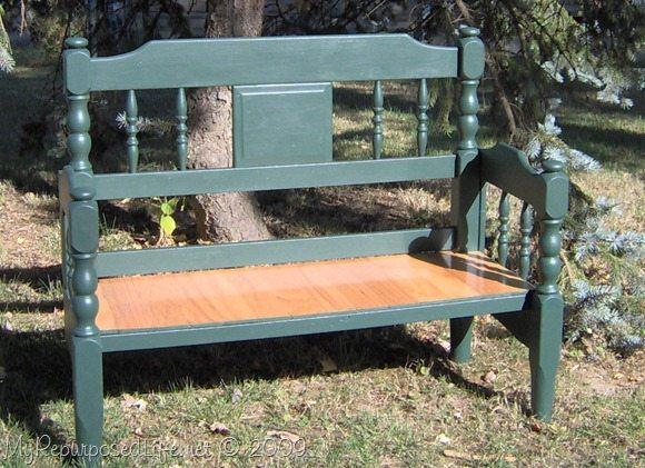 Easy Headboard Bench My Repurposed Life 174