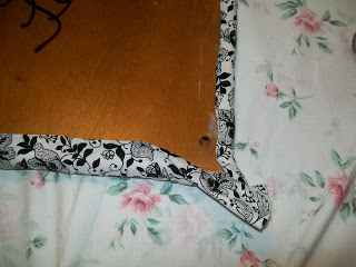 how to upholster corners