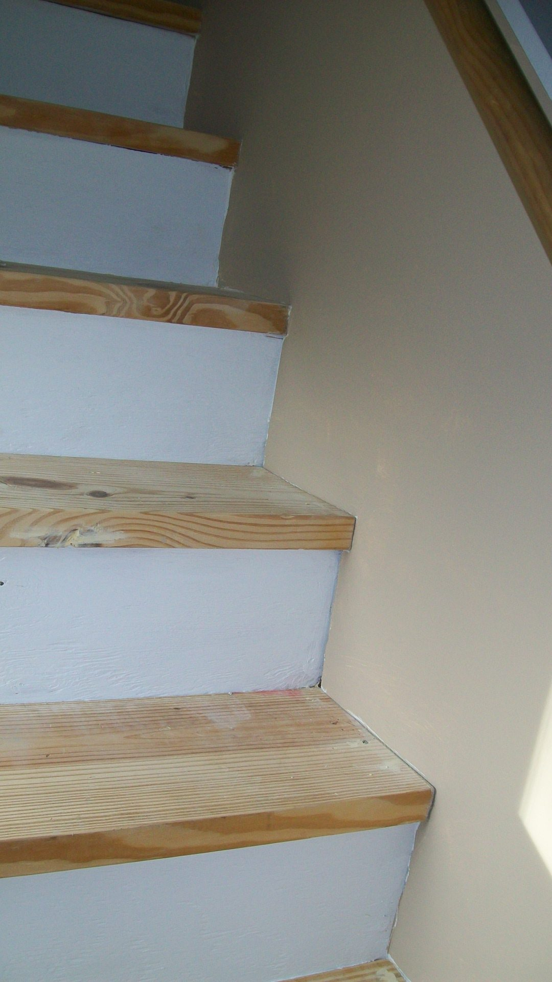 remove carpet paint stairs my repurposed life. Black Bedroom Furniture Sets. Home Design Ideas
