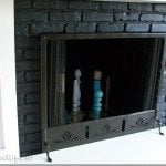 how-to-paint-brass-fireplace-screen
