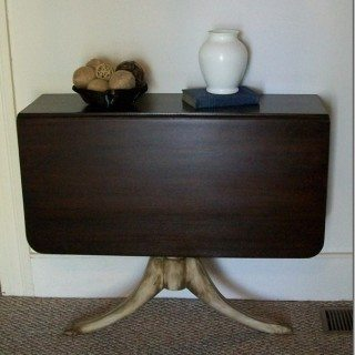 dining table into console table