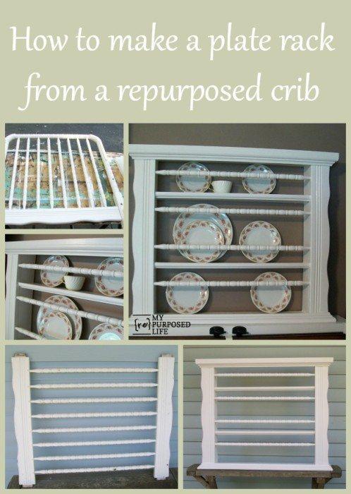 MyRepurposedLife-make-plate-rack-repurposed-crib