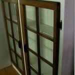 Double Window Cabinet