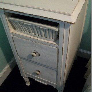 Vintage Nightstand Makeover