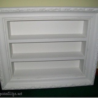 Picture Frame Shadow Boxes
