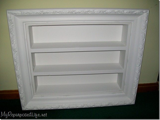 Picture Frame Shadow Boxes My Repurposed Life