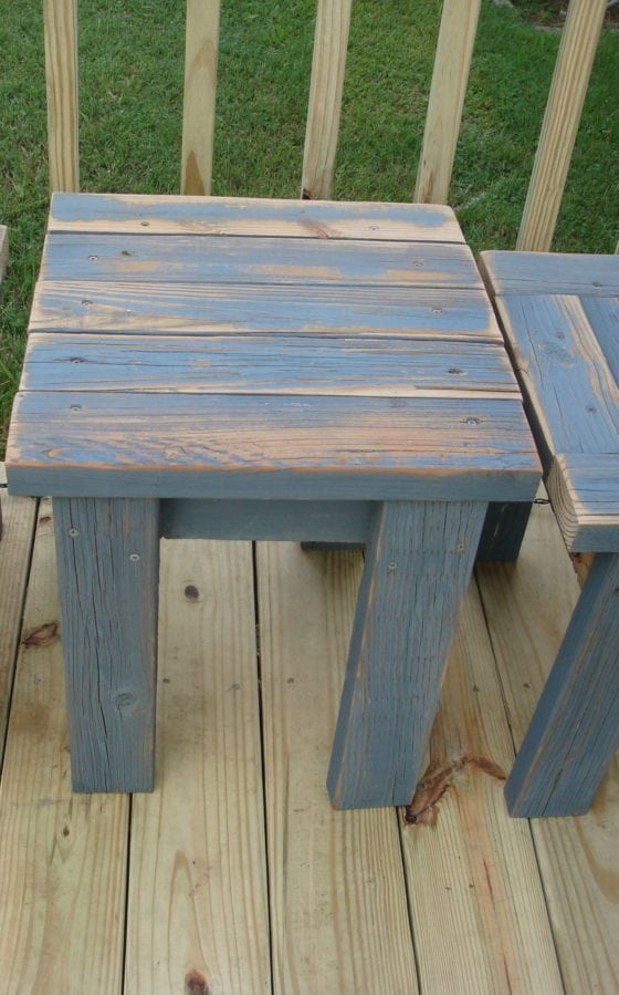 distressed reclaimed 2x4 projects
