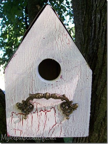 Easy Diy Birdhouse My Repurposed Life