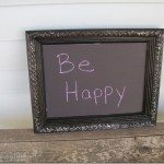 DIY Chalkboard Paint Projects