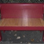 red-headboard-bench-sleigh-bed