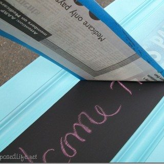 Repurposed Cabinet Door Chalkboards