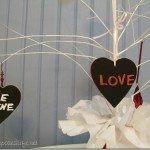 Easy Chalkboard Hearts