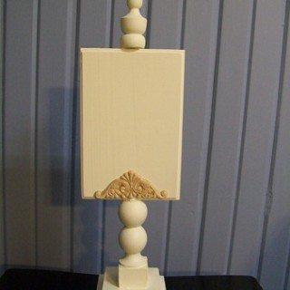 Pedestal Photo Display pt 2