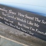 Amazing Grace Large sign tutorial