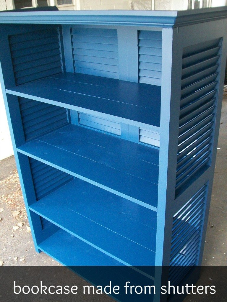 bookcase-made-from-shutters