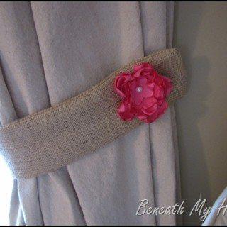 burlap-tie-backs