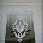 damask-stenciled-mirror