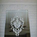 damask-stenciled-mirror
