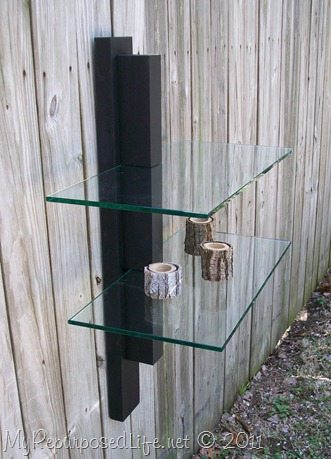 Modern Shelf Glass My Repurposed Life