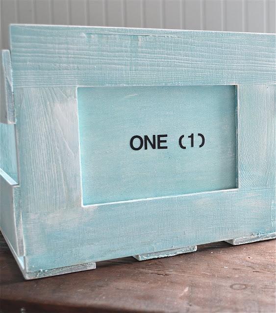 blue crate tutorial