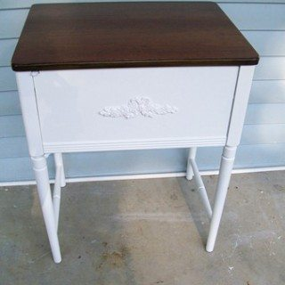 """Helena"" a repurposed sewing cabinet"