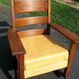 Reupholster Rocking Chair