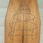 Vintage Ironing Board ART