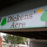 Dickens' Acre (simple sign with Silhouette template)