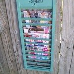 My Repurposed Life Shutter Magazine Rack
