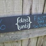 "Chalkboard ""days until"" sign (Dremel Winner)"