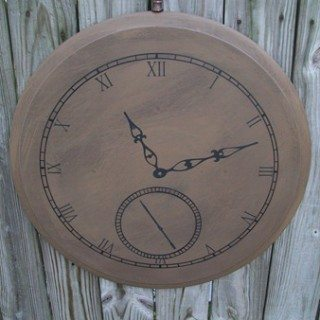Faux Pocket Watch (wall art)