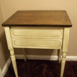 How to update old sewing cabinets