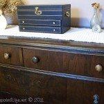 Mammaw's Vintage Dresser (Guest Room)