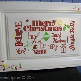 More Christmas Vinyl signs