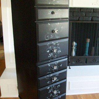 Repurposed Desk into a chest
