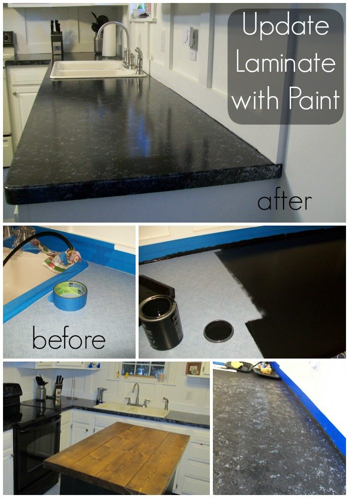 Update Laminate Counter With Paint