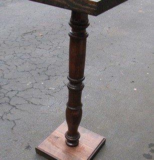 Pedestal Stand Knockoff
