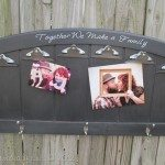 Headboard Photo Display Sign