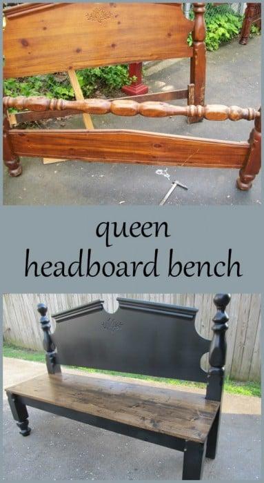 MyRepurposedLife-queen-headboard-bench