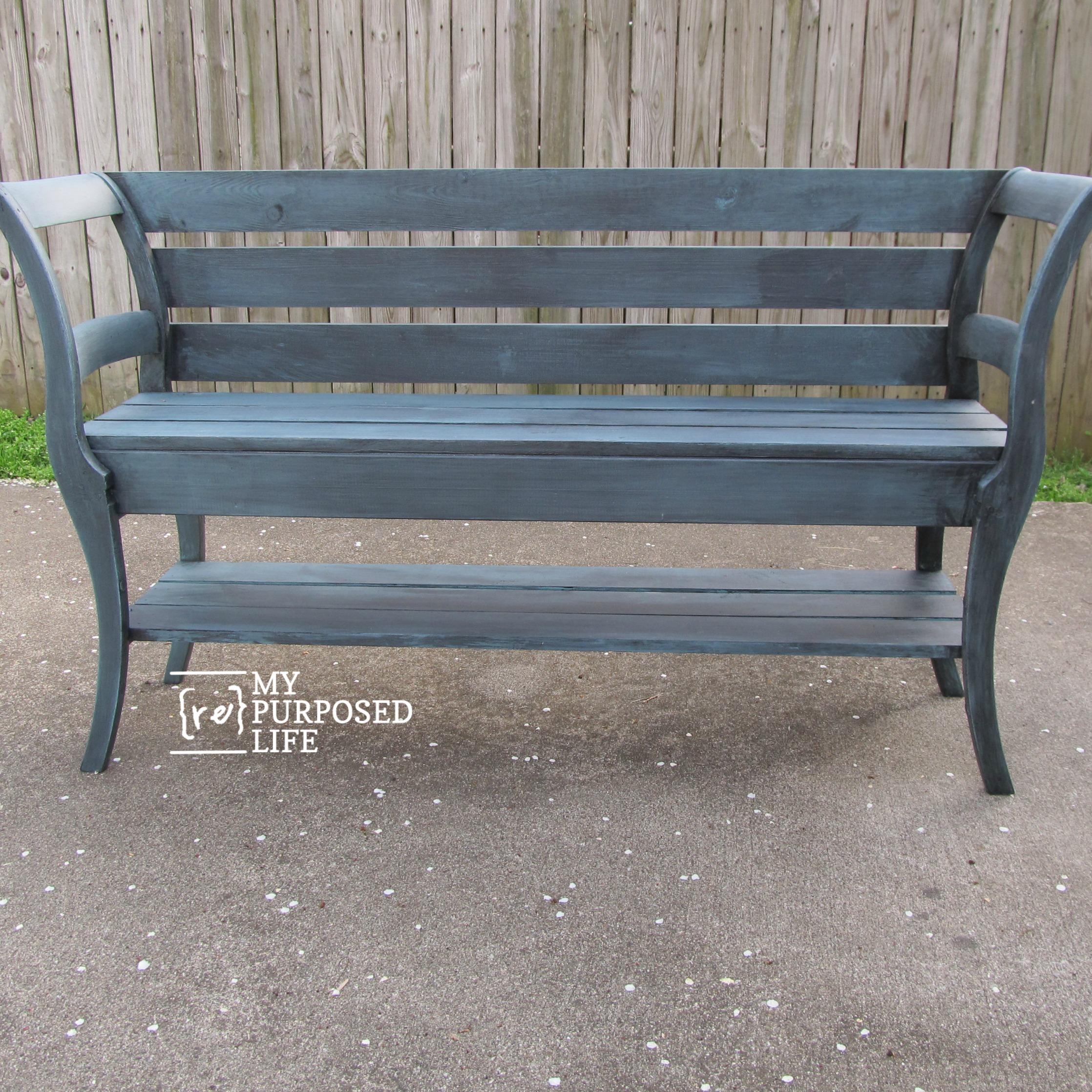 2 Repurposed Chairs Plus 1 Bench Failure My Repurposed Life Rescue Re Imagine Repeat