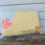 Happy Spring Placemat Pillow